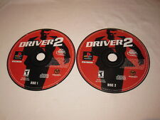 Driver 2 (PlayStation PS1) Original Release Game CDs in a Plain Case Excellent!