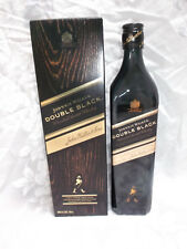 "EMPTY BOTTLE  ""JOHNNIE WALKER"" DOUBLE BLACK BLENDED SCOTCH WHISKY ** 700ML"