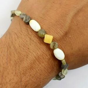 "Wholesale Price Smooth Natural Multi Color Bracelet Gemstones size 6.5"" TA-1001"