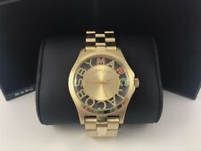 MARC BY MARC JACOBS Henry Gold-Tone Steel Link Ladies Watch MBM3263
