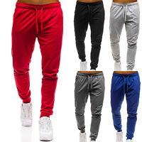 Men's Jogger Pants Sweatpants Track Sports Slim Fit Gym Trousers Jogging Bottoms