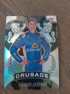 🏁2021 Chronicles Racing Crusade Prizm Base #9 Raphael Lessard - Rookie🏁