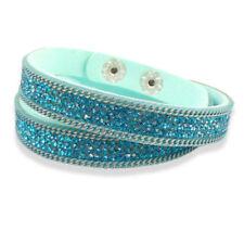 Wickel Modeschmuck-Armbänder mit Kristall für Damen