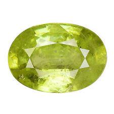 Oval Loose Sphene & Titanite Gemstones