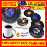 4pcs Retro Vinyl Record Style Drink Coasters Great Gift for Musician DJ Man Cave