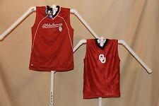 OKLAHOMA SOONERS reversible Basketball Jersey STARTER  Youth Large  size 12-14