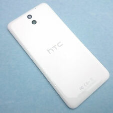 100% Genuine HTC Desire 610 rear battery cover+camera glass lens White back+NFC