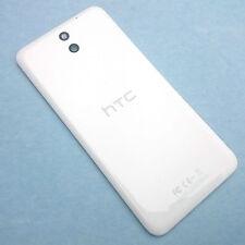 100% Genuine HTC Desire 610 rear battery cover+camera glass lens White back+NFC