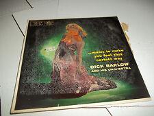 Dick Barlow Music To Make You Feel A Certain Way Mercury LP 1956 CHEESECAKE