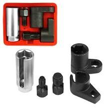 Professional 5 Pc Oxygen Sensor & Thread Chaser Set Auto Socket w/ Case