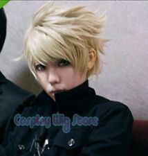 Hot Sell ! NWT D GRAY MAN Bak Chan Anime Cosplay Blonde Short Wig     g100