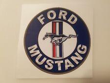 #424 FORD MUSTANG SIGN Blau #2 9cm! AUFKLEBER STICKER AUTOCOLLANT ETIQUETTA