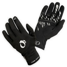 NEW Pearl Izumi Mens Thermal Conductive Gloves Full Finger Bicycle Black Large L
