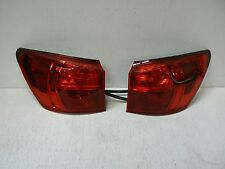 06-08 Lexus IS250 IS350 Taillight Pair Set Left Right Red Turn Signal OEM