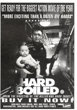 "NEWSPAPER CLIPPING/ADVERT 13/8/94PGN27 7X5"" HARD BOILED MOVIE"