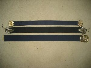 3 X Girls waist elastic stretch buckles belts