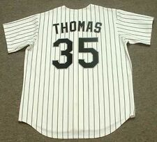 FRANK THOMAS Chicago White Sox 1994 Majestic Throwback Home Baseball Jersey