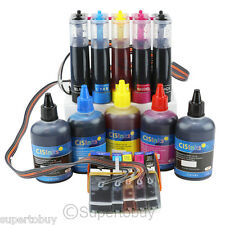 CISS & Ink Set Compatible Ink System for Epson Expression XP-600 XP-800 CIS