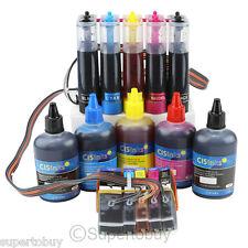 CISS & Ink Set Compatible Ink System Epson Expression XP-520 XP-620 XP-820 CIS