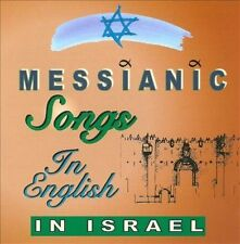 NEW Messianic Songs in English in Israel (Audio CD)