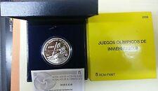 Año 2005. 10 EUROS DE PLATA. ESPAÑA. Juegos Olímpicos de Invierno 2006.
