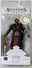 "EZIO EBONY ASSASSIN UNHOODED Assassin's Creed Brotherhood 7"" Figure TRU 2011"