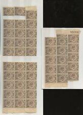 ERITREA 1922 ELEPHANT BENADIR of SOMALIA 2c on 1c MINT UM...50 stamps...Lot 1