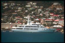 203079 Cruise Ship In Port At Charlotte Amalie St Thomas A4 Photo Print