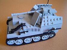 Lego WW2 GERMAN Vehicle MARDER III ausf. M TANK Artillery NEW
