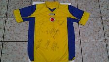 COLOMBIA NATIONAL TEAM SIGNED LOTTO SOCCER JERSEY