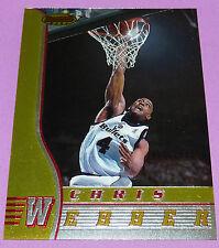 CHRIS WEBBER BULLETS WASHINGTON BOWMAN'S BEST TOPPS 1997 NBA BASKETBALL CARD