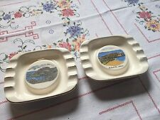 (two) ashtrays with sins from northern Ireland