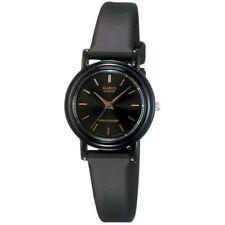 Casio Classic Women's Quartz Analog Black Resin Band 25mm Watch LQ139E-1A