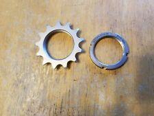Redline Cr-Mo Steel 13T Single Speed Bike Track Cog -Threaded w Lockring