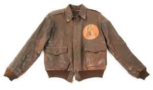 "WW 2 A-2 455th Bomb Group ""Vulgar Vultures"" 15th Air Force Flight Jacket"