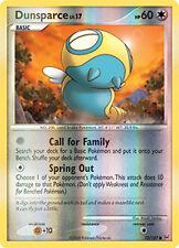 Dunsparce Reverse Holo Common Pokemon Card Pt1 Platinum 73/127