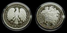 "Germany - 10 Mark 1987 ""G"" Proof ~ Treaty of Rome, silver"