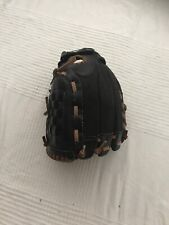 Adidas TS1050 Youth Baseball Glove Left Hand Black Leather  Easy Close