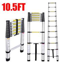 105ft Aluminum Multi Purpose Telescopic Ladders Folding Extension Step Ladder