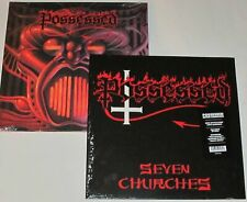 2 Possessed LP NEW Seven Churches & Beyond The Gates Both Ltd. Ed. Reissues