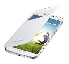 Original Samsung S-View Cover Flip Case EF-CI950 White Wei�Ÿ für Galaxy S4 SIV