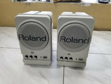 Set of TWO Roland MA-12C Stereo Micro Monitor Speakers