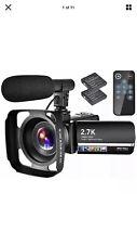 🔥Digital Life 2.7k Camcorder High Definition Vlogging Camera🔥