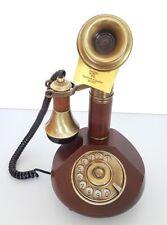 Telefono fisso vintage colore legno Sitel mod. 25000