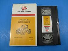 JCB VHS Tape Fastrac Demount Sprayer Mid Atlantic Services JCB168 Sept 98 2.5Min
