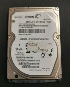 Seagate Momentus 750Gb ST9750420AS 7.2k Rpm HDD