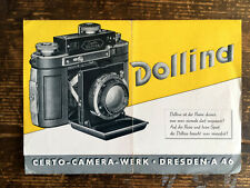 Certo Dollina - Prospekt / Preisliste  - Text.deutsch - Classic-Camera-STORE