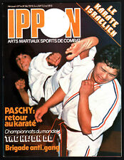 IPPON n°9 ¤ 1977 ¤ ARTS MARTIAUX/SPORTS COMBAT / TAE KWON DO / ANTI-GANG
