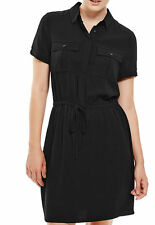 Marks and Spencer Women's No Pattern Collared Short Sleeve Dresses