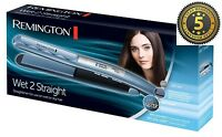 Remington S7200 Wet 2 Straight Use on Wet OR Dry Straightener Brand New